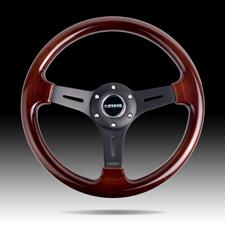 Wood Grain Steering Wheel
